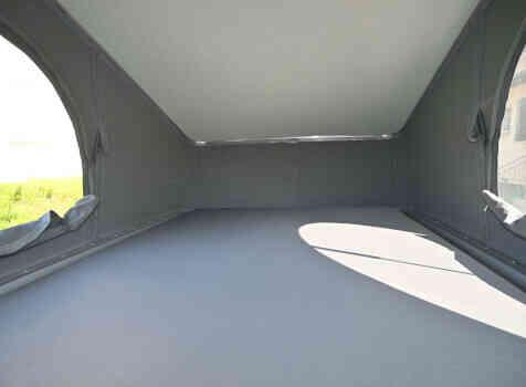 camping-car TRANSIT CUSTOM  intérieur / couchage principal