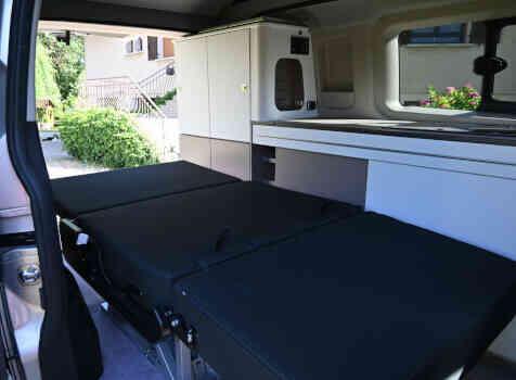 camping-car TRANSIT CUSTOM  intérieur / autre couchage