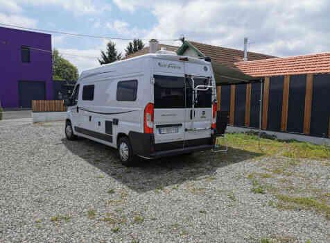 camping-car FONTVENDOME LEADER CAMP  extérieur / arrière