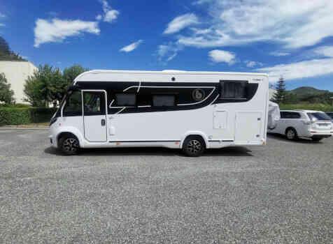 camping-car BENIMAR 967 AMPHITRYON  extérieur / face avant