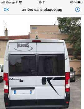 camping-car MC LOUIS MENPHIS 3 LUX EDITION  extérieur / arrière