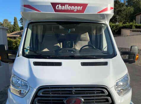 camping-car CHALLENGER GENESIS 388 EB  extérieur / face avant