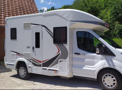camping-car CHALLENGER QUARTZ 170   extérieur