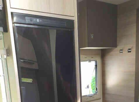 camping-car CHALLENGER QUARTZ 170   intérieur