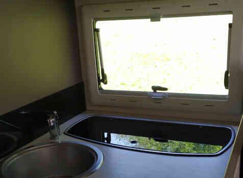 camping-car CHALLENGER QUARTZ 170   intérieur /