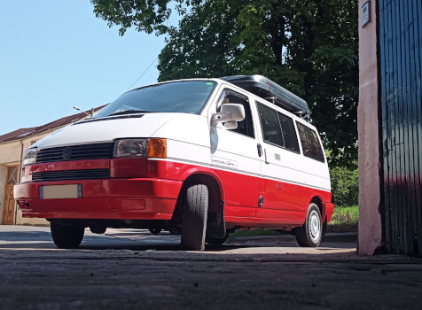 camping-car VOLKSWAGEN T4  extérieur / face avant