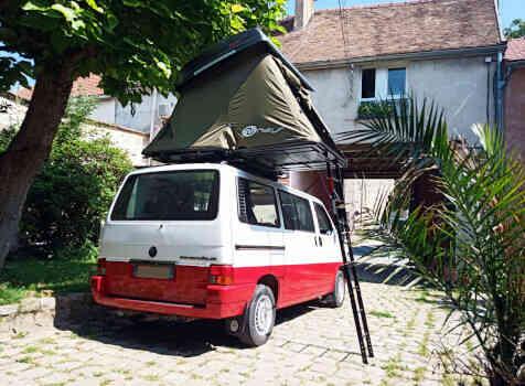 camping-car VOLKSWAGEN T4  extérieur / arrière