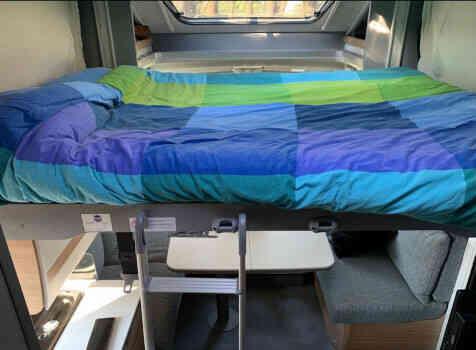 camping-car DETHLEFFS JUST 90 7052 DBL   intérieur / autre couchage