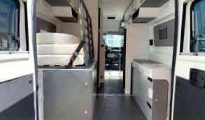 camping-car PILOTE V 600 G  intérieur / couchage principal