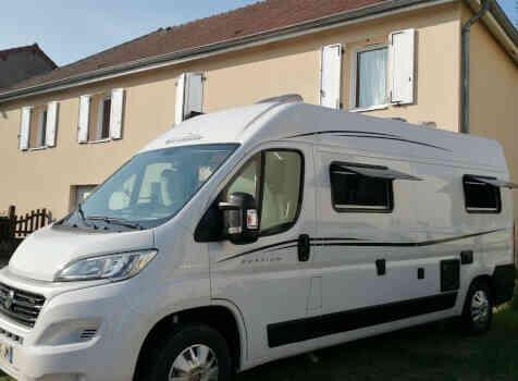camping-car FONT VENDOME EVASION   extérieur / latéral droit