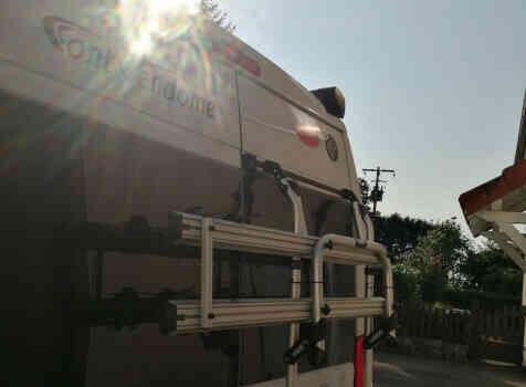 camping-car FONT VENDOME EVASION   extérieur / arrière