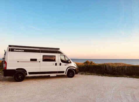 camping-car CHAUSSON TWIST V 594 MAX  extérieur / latéral gauche
