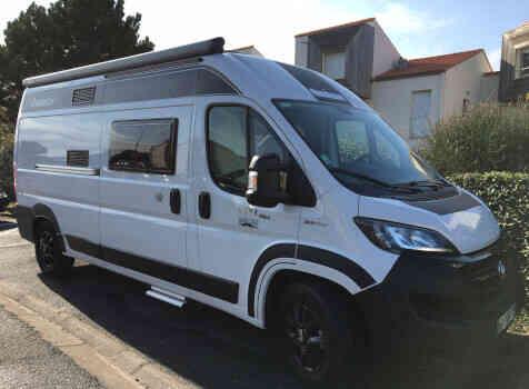 camping-car CHAUSSON TWIST V 594 MAX  extérieur / face avant