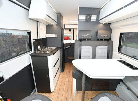 camping-car ELIOS 63 LB SKYLINE ELIOS SKYLINE  intérieur / coin salon