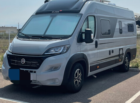 camping-car ELIOS 63 LB SKYLINE ELIOS SKYLINE  extérieur / latéral gauche