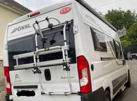camping-car POSSL TRENTA 600   extérieur / arrière