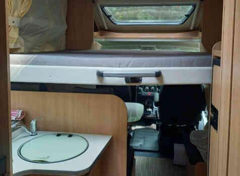 camping-car CAPRON SUNLIGHT  intérieur / autre couchage