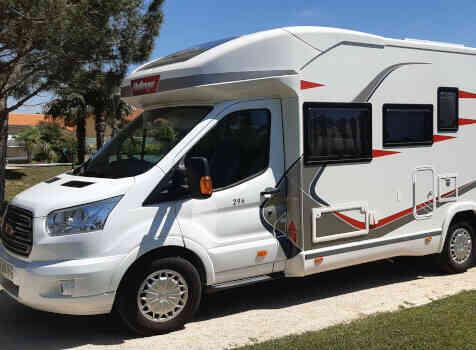camping-car CHALLENGER GENESIS 296  extérieur / latéral gauche