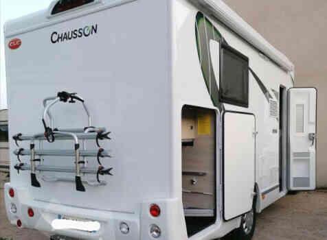 camping-car CHAUSSON 628 EB EDITION SPECIALE  extérieur / arrière