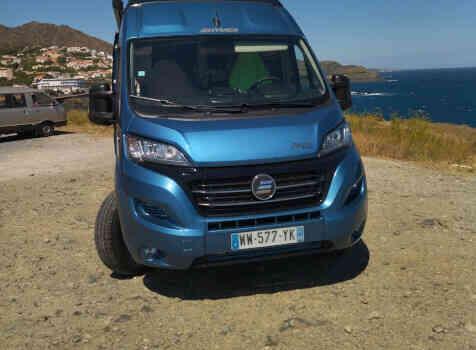 camping-car HYMER FREE 540 EVOLUTION  extérieur / face avant
