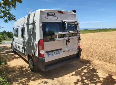 camping-car MC LOUIS  MENFYS 3 MAX PLUS  extérieur / arrière