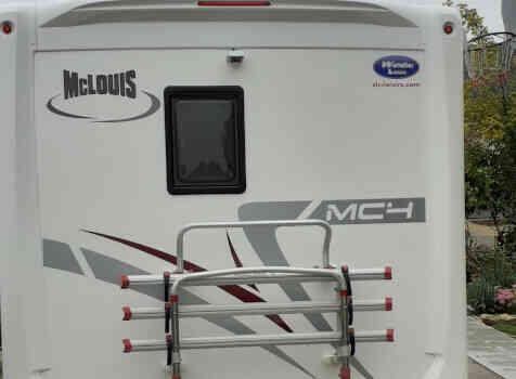 camping-car MC LOUIS MC4  extérieur / arrière