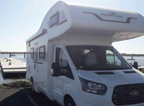 camping-car ROLLER TEAM 277 M  extérieur / latéral droit