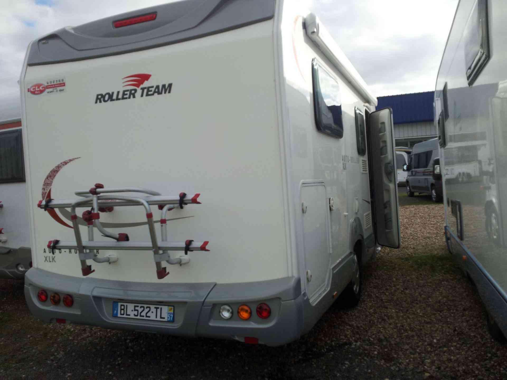 camping-car ROLLER TEAM AUTOROLLER XLP extérieur arrière