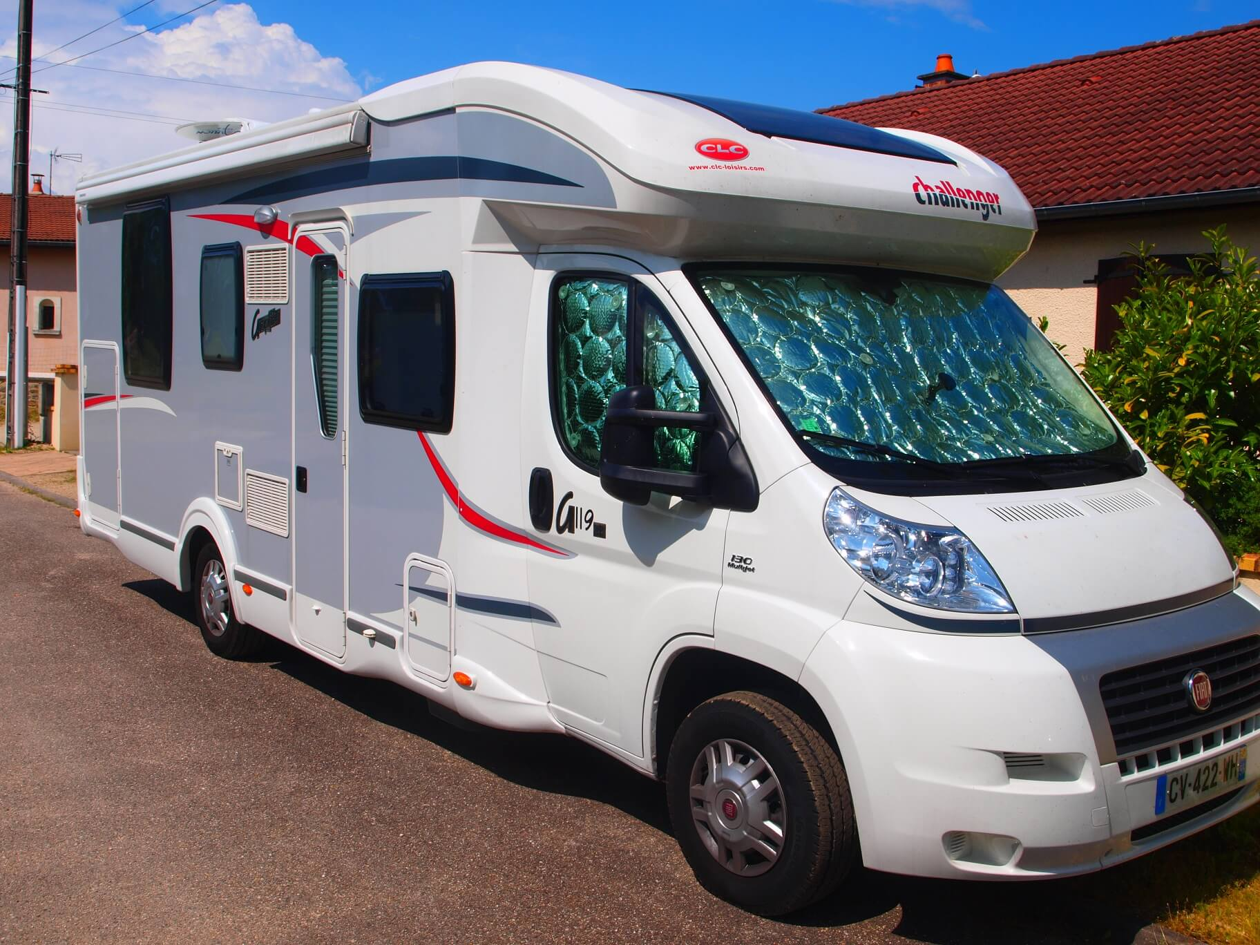 camping-car CHALLENGER MAGEO 119