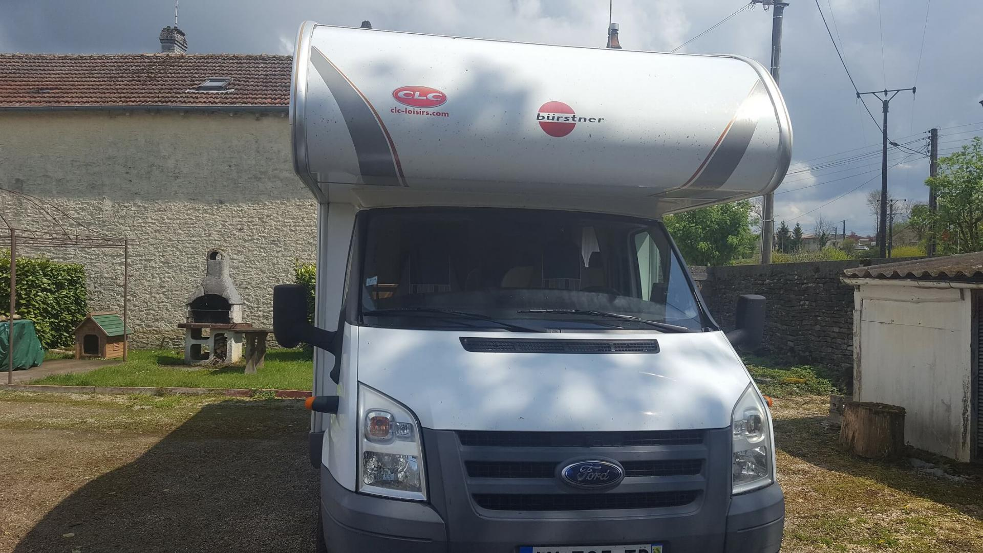 camping-car BURSTNER A 645