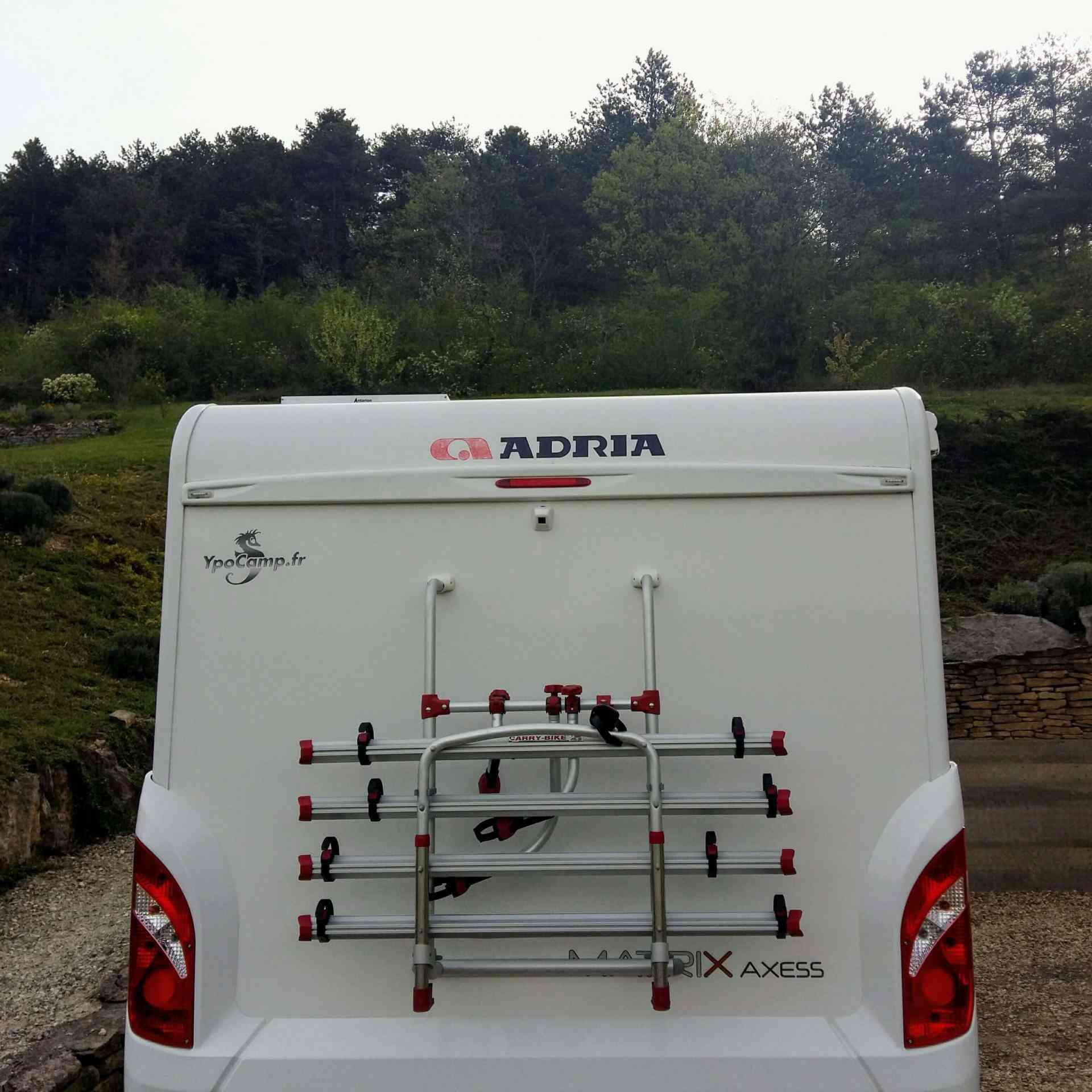 camping-car ADRIA MATRIX AXESS