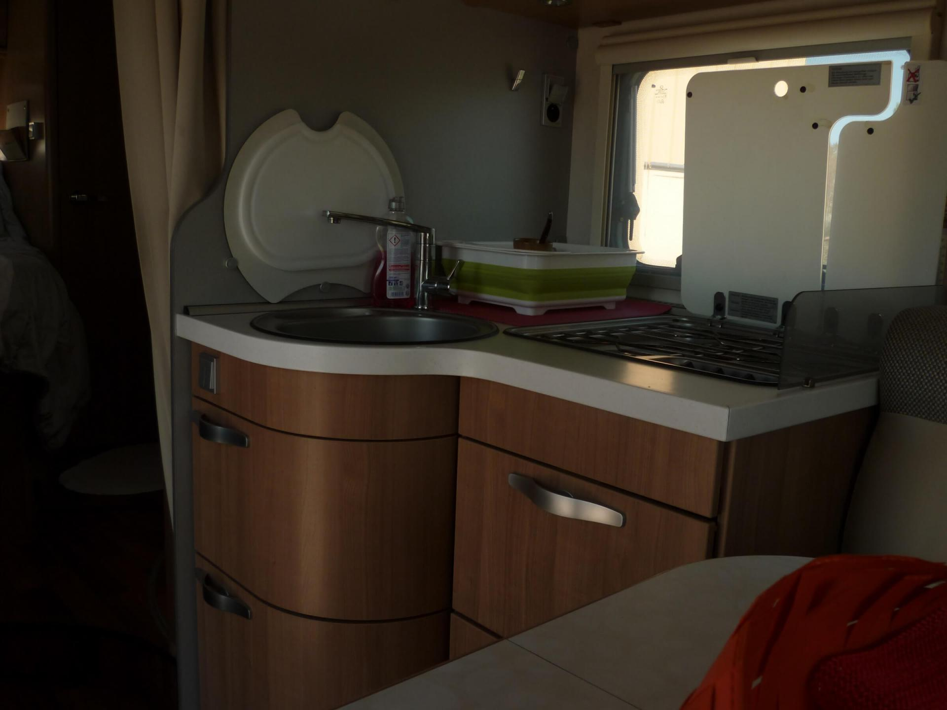 camping-car HYMER TRAMP 598