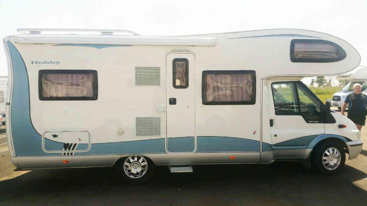 camping-car HOBBY T 650