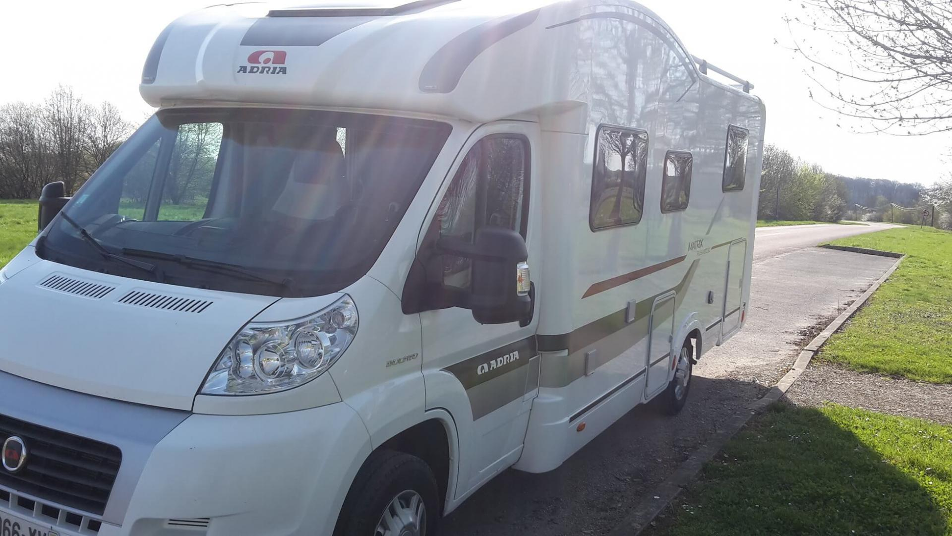 camping-car ADRIA MATRIX PLUS M 670 SC