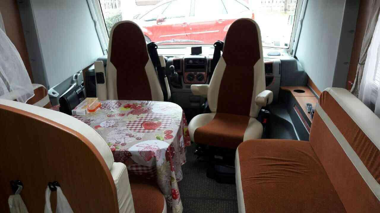 camping-car PILOTE G 741 LJR
