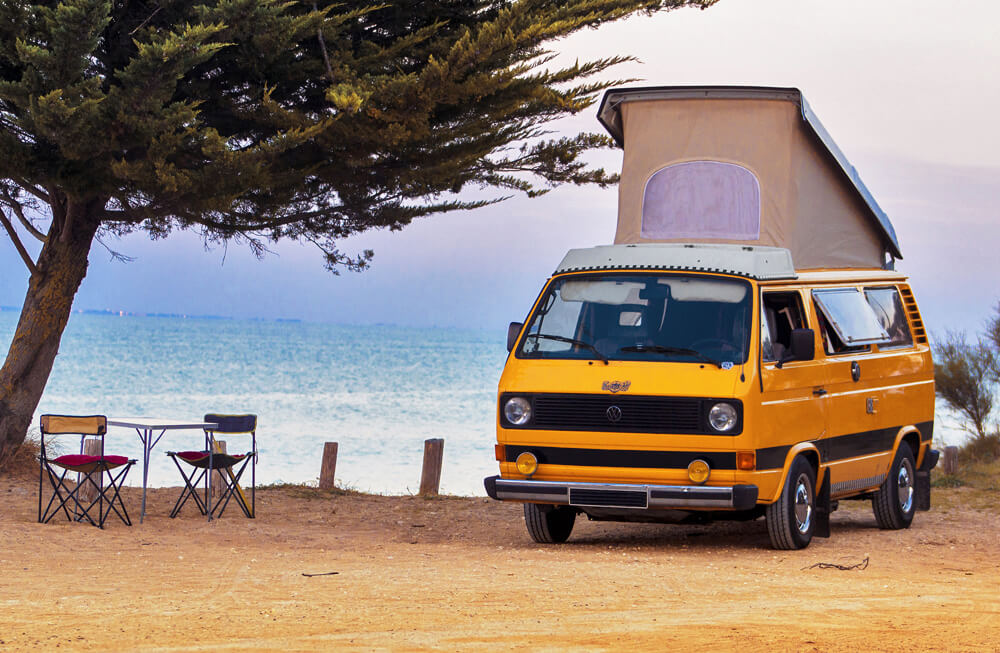 location camping car van la bree les bains 17 volkswagen westfalia combi t3 hapee. Black Bedroom Furniture Sets. Home Design Ideas
