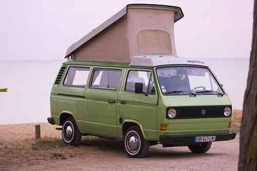 camping-car VOLKSWAGEN COMBI TRANSPORTEUR
