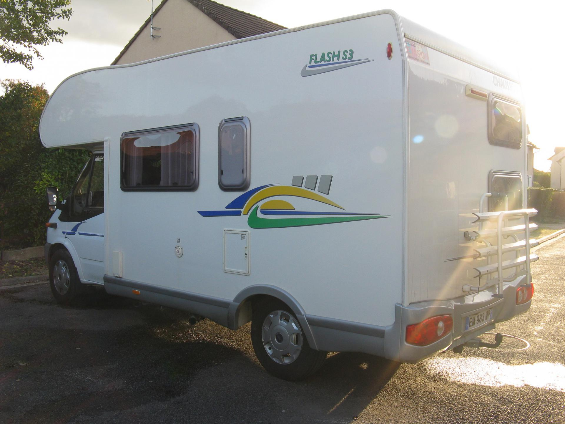 camping-car CHAUSSON FLASH 3