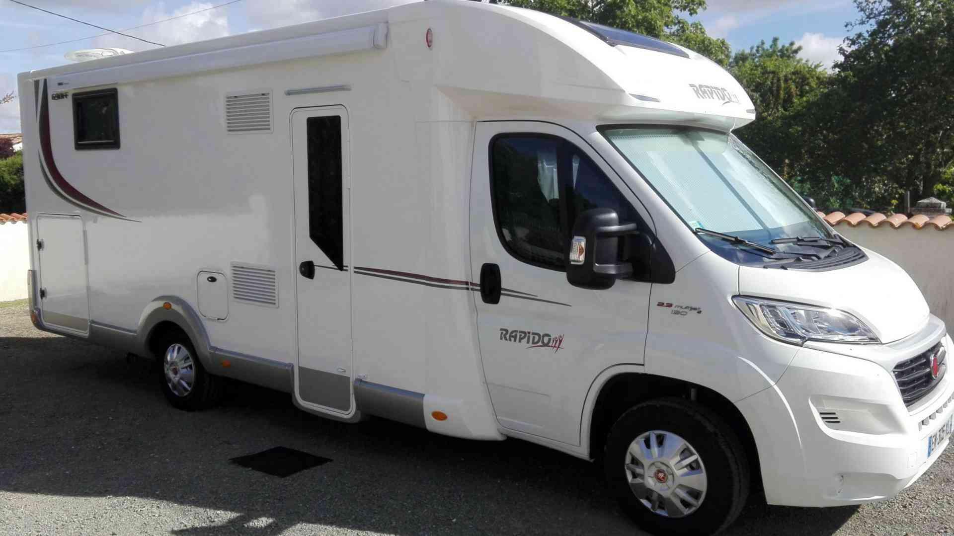 camping-car RAPIDO 690 FF