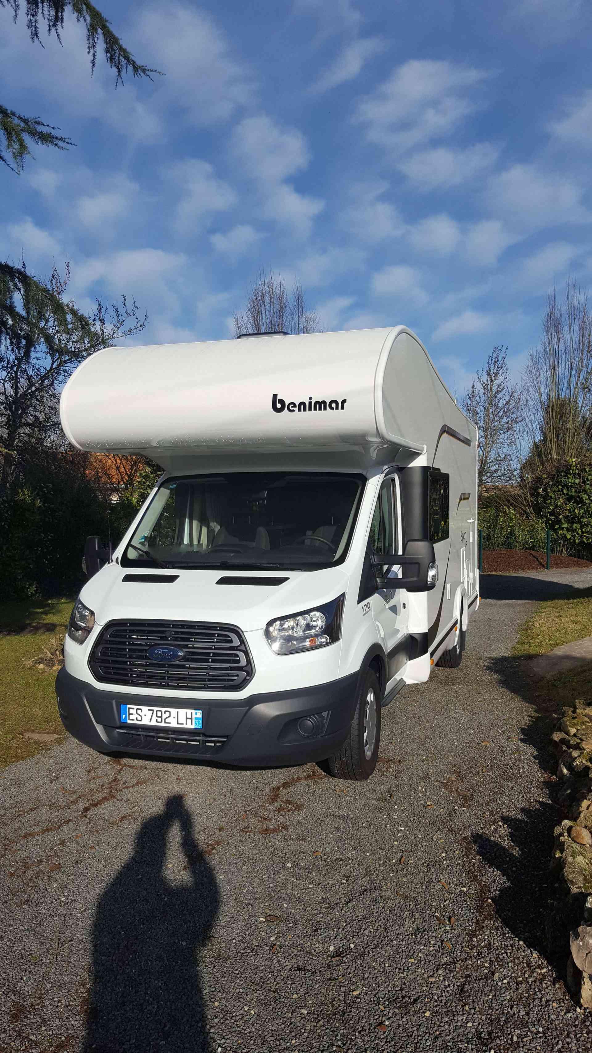camping-car BENIMAR SPORT 340
