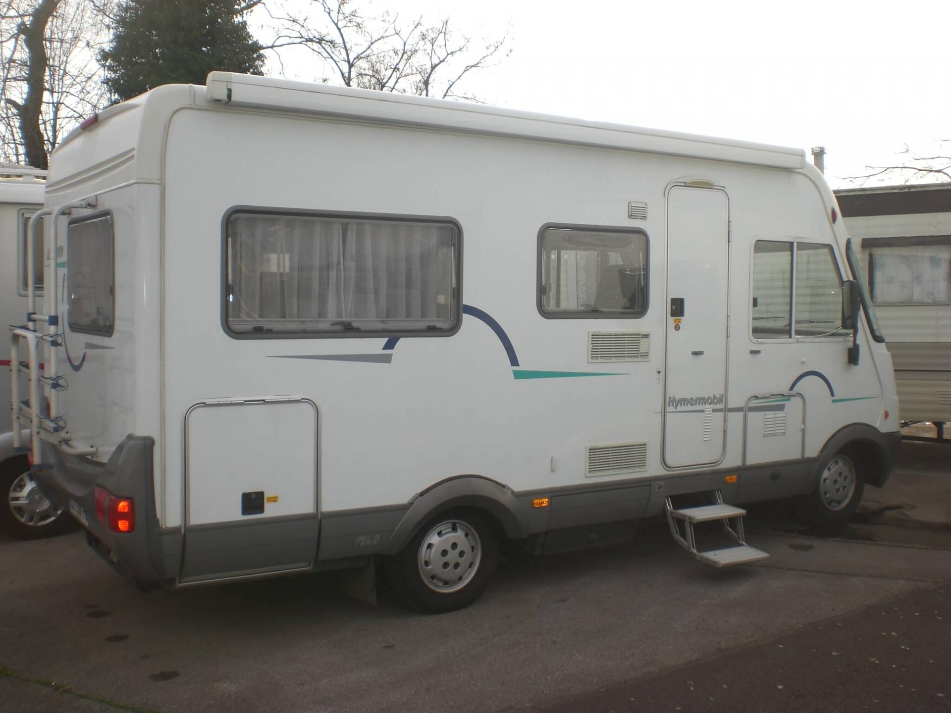 camping-car HYMER B 574