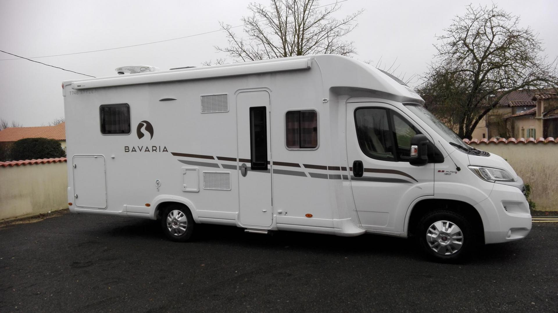 camping-car BAVARIA  T 746 STYLE PROFIL