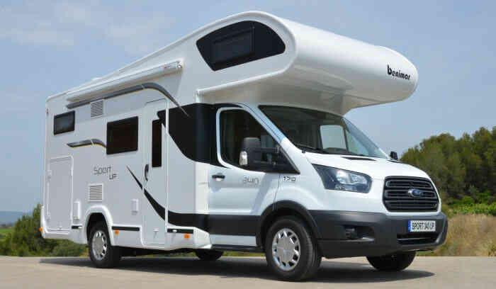 camping-car BENIMAR 340 SPORT