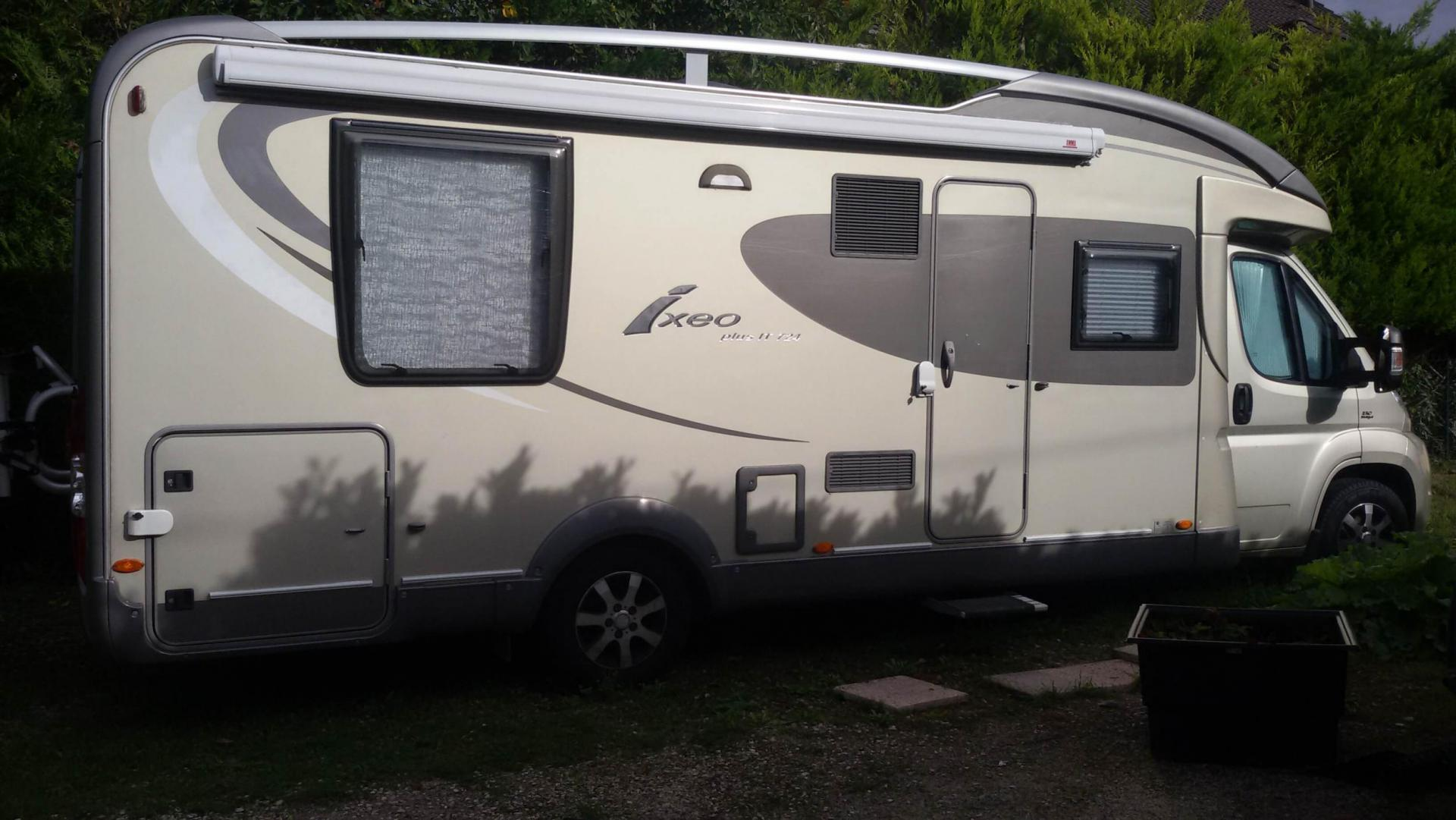 camping-car BURSTNER IXEO PLUS IT 724