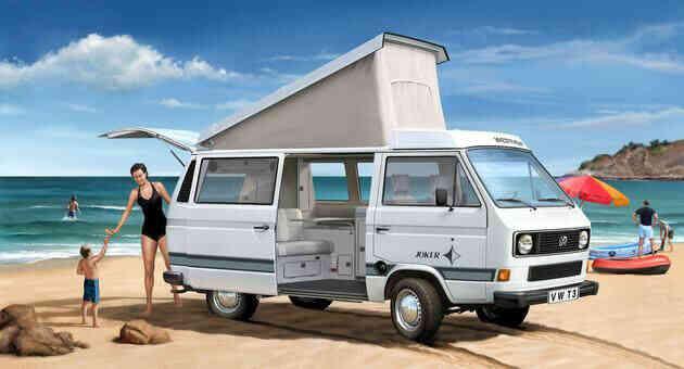 camping-car VOLKSWAGEN COMBI T3 TRANSPORTER JOKER CALIFORNIA