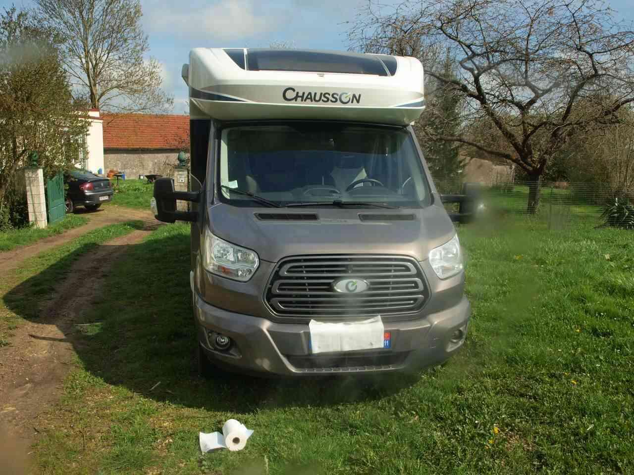 camping-car CHAUSSON FLASH 628 EB