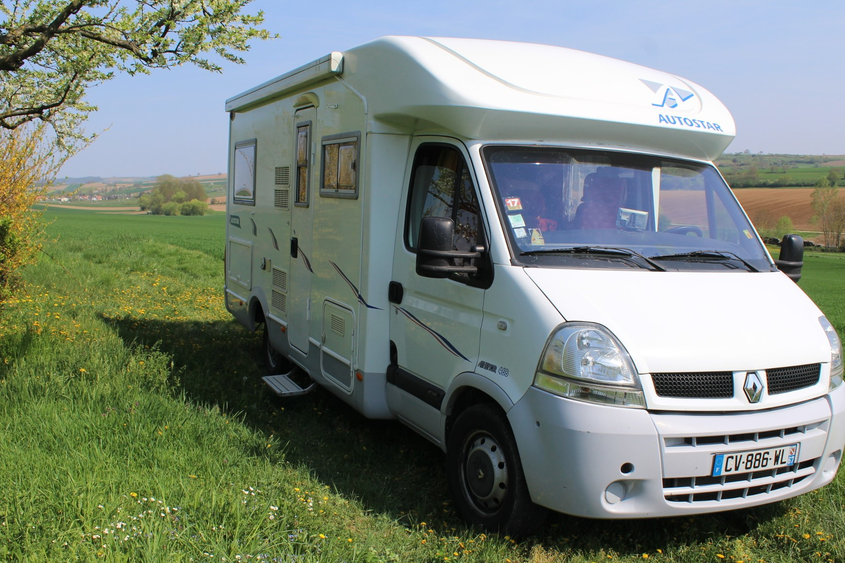 camping-car AUTOSTAR ATHENOR 468