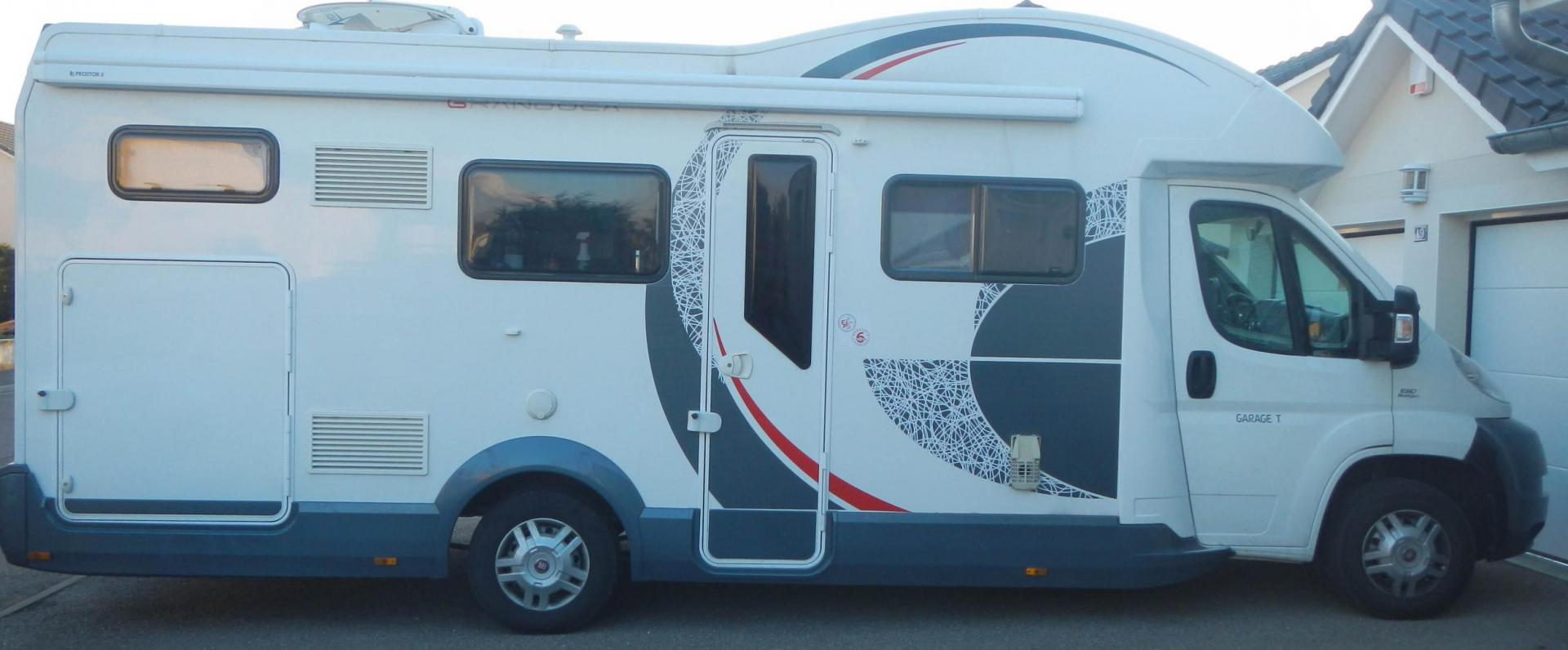 camping-car ROLLERTEAM GRANDUCA TL