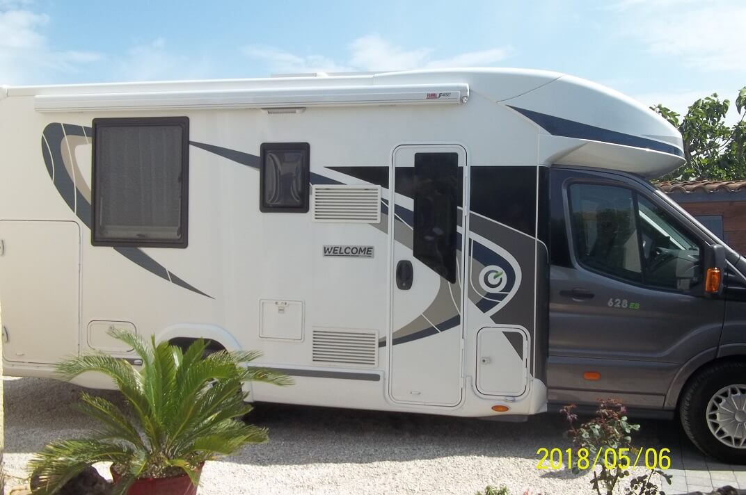 camping-car CHAUSSON WELCOME 628 EB