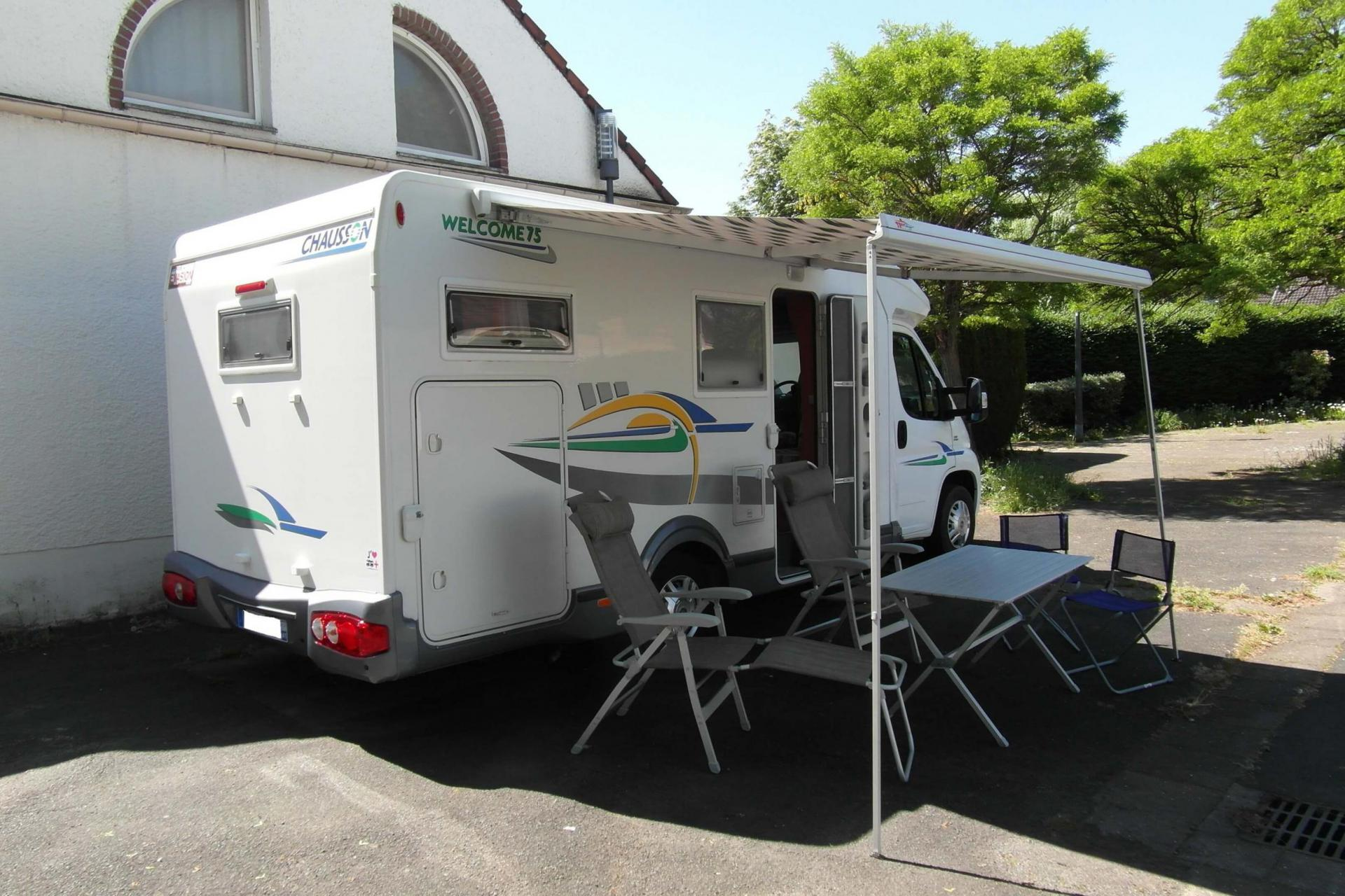 camping-car CHAUSSON WELCOME 75